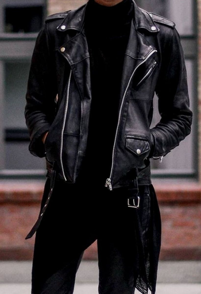 48 Best Leather Jacket Clothing Ideas for Men