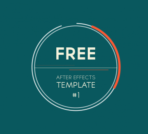 free after effects template 2d logo introduction transition motion and design