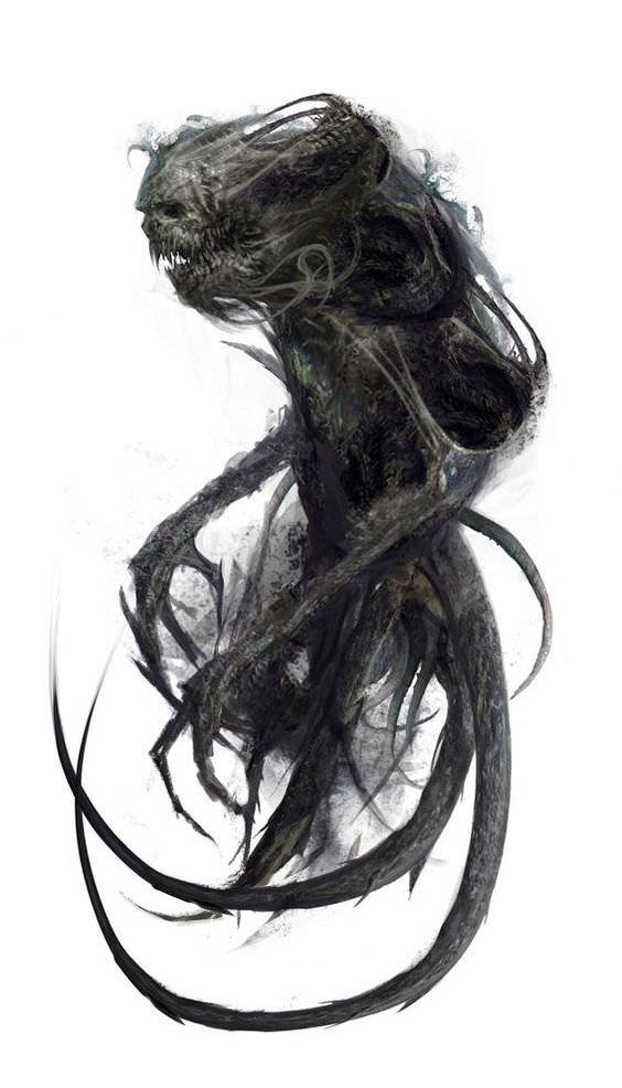 Pin By Viktoriya On D D Inspiration Dark Creatures Creature Art Monster Art