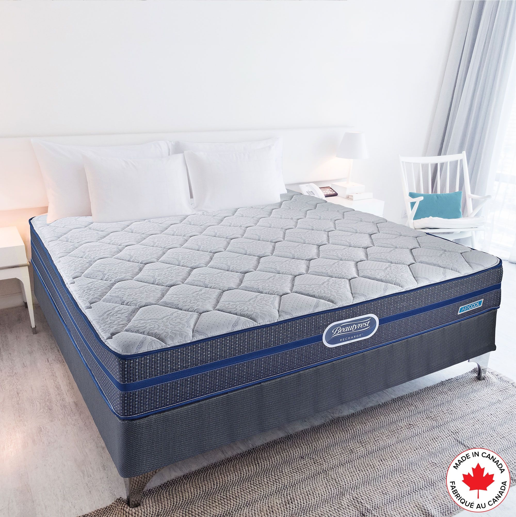 Simmons Beautyrest Recharge Deluxe Mattress Boxspring Recharge