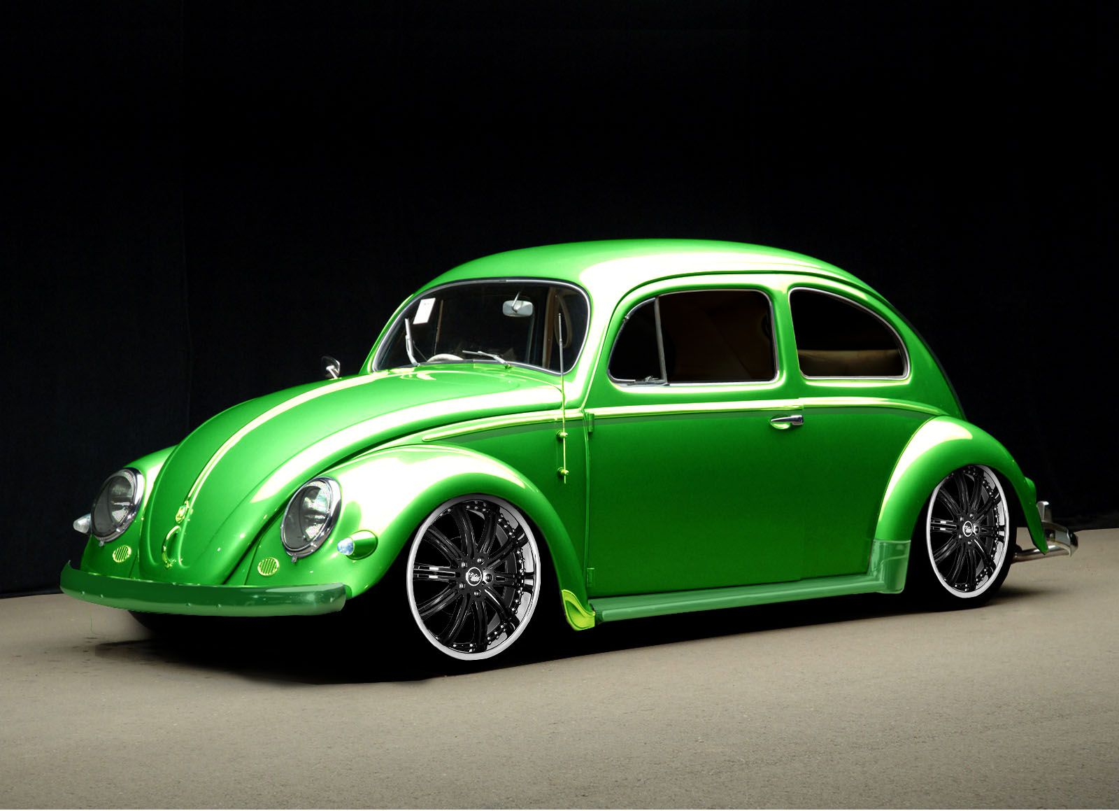 Tuning Old Car VW Beetle Digital Customisation Vw