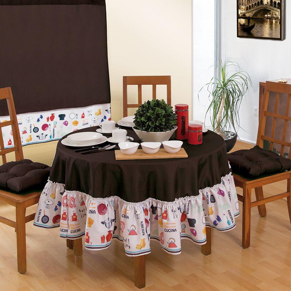Mantel redondo chef cocina accesorios decoracion hogar for Accesorios decoracion hogar