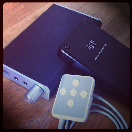 iPod Portable Amplifier : Fostex hp-p1,Fiio E7, Audio Technica AT-PHA31i