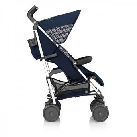 Fendi Inglesina Navy Zucca Logo Stroller Buggies And