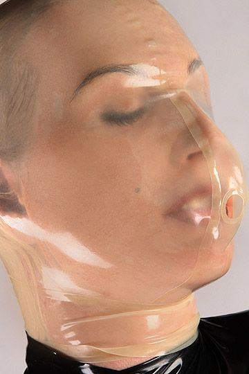 Latexmaske Breathcontrol