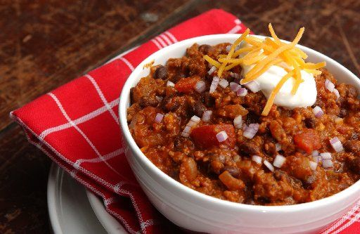 An Uptown Classic Chili Made With Ground Beef Ground Pork Beans And Our Own Italian Tomatoes Delicious And Perfe Favorite Chili Recipe Recipes Chili Recipes