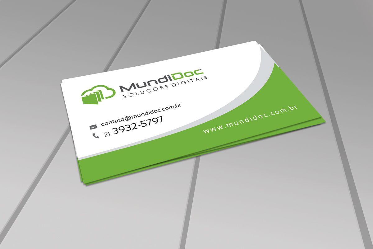 Cartão de visita MundiDoc.