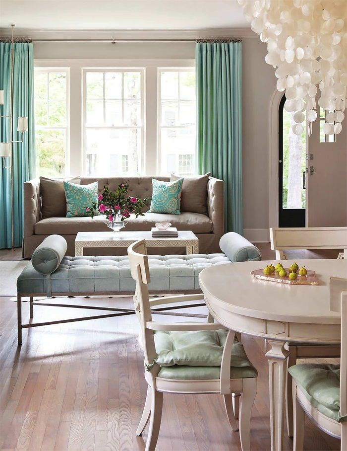 Wonderful Calm, Taupe, Turquoise, Shine, Texture. Luv It! CJ. Blue RoomsOctober ...