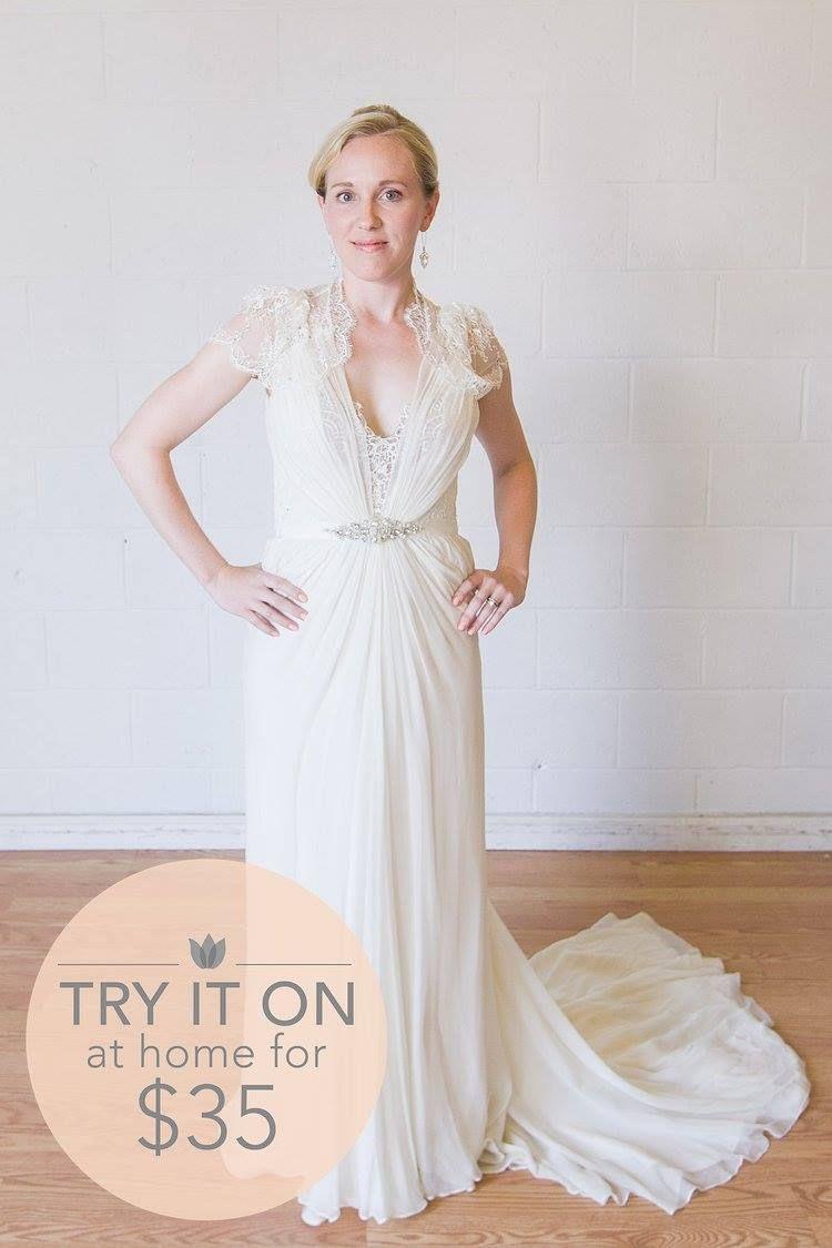 Jenny Packham - Aspen - Size 4 // Borrow this designer gown for 75 ...