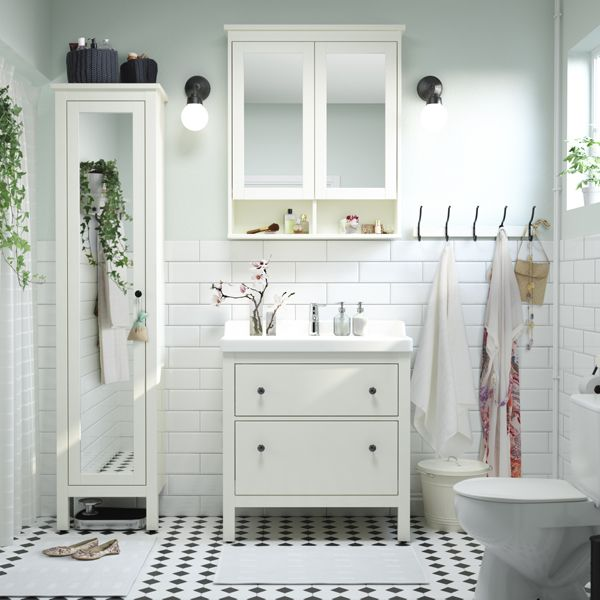 A Little Me Time Goes A Long Way! Click To Find IKEA Bathroom Furniture