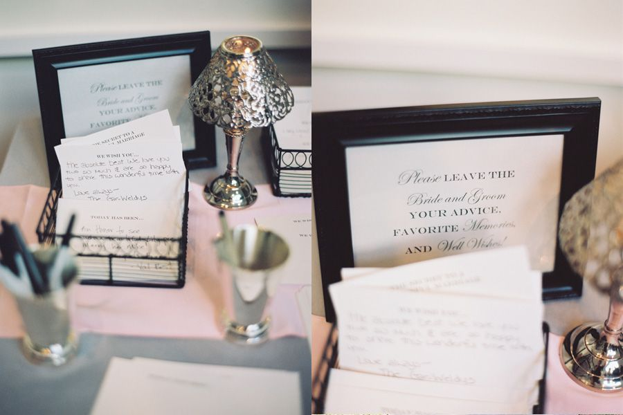 love this idea have your guests write