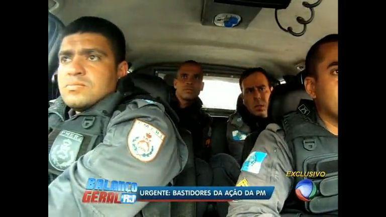Balanço Geral RJ registra bastidores de uma operação policial - Vídeos - R7
