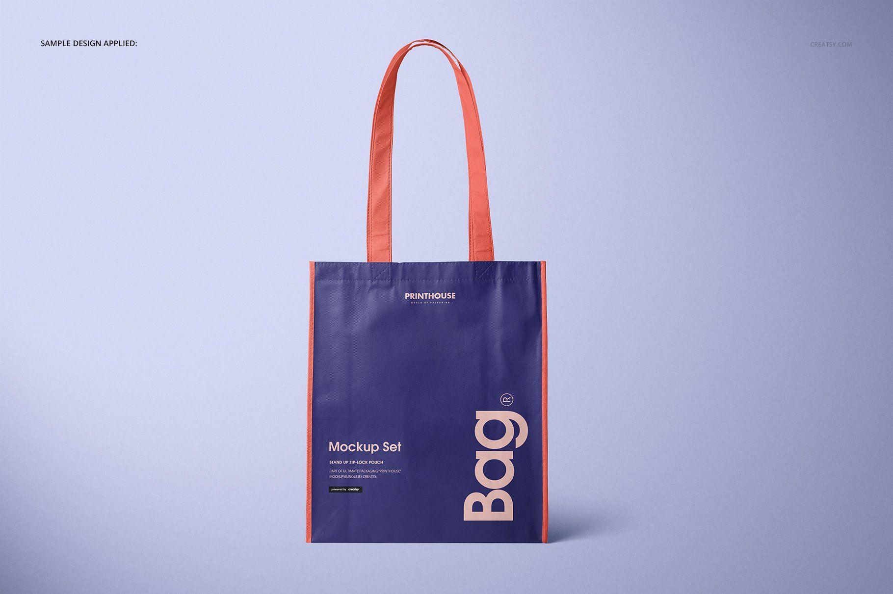 Download Laminated Non Woven Bag Mockups 2 Non Woven Bags Bags Woven Bag