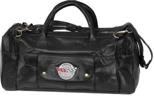 3db3832ac6 C3 Corvette 25th Anniversary Leather Travel Bag