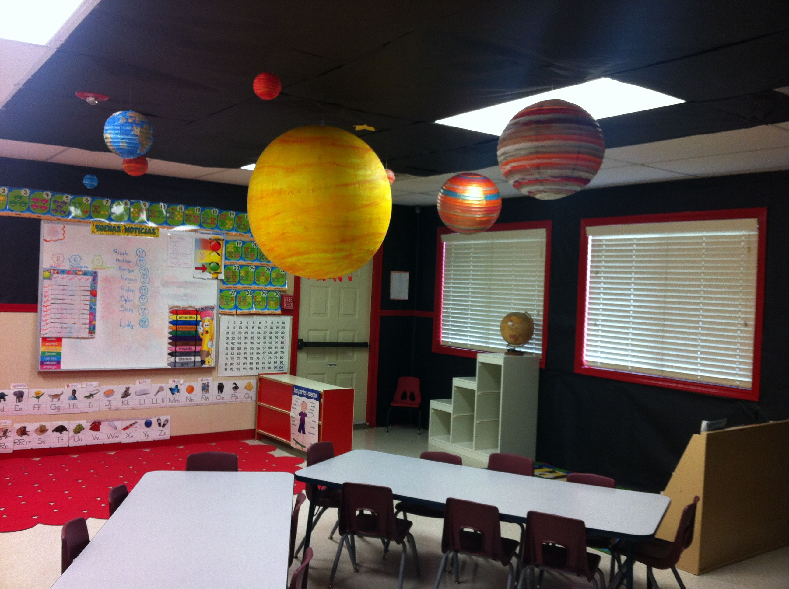 The Universe Theme For Classroom Decoration Classroom Decor Classroom Themes Classroom Decorations