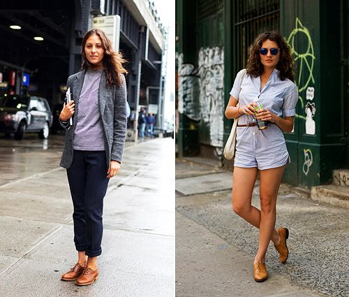 Brogues outfit, Brogues womens outfit