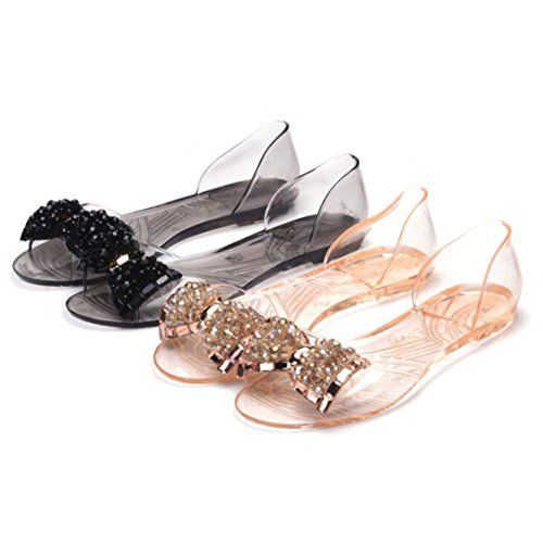 Womail Plastic Bohemia Jelly Bowknot Loafers Slippers Beach Sandals Shoes -- You can find out more details at the link of the image. (This is an Amazon affiliate link)