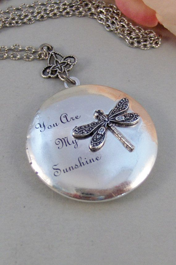 Photo Cabochon Glass Silver popular Chain Pendants Necklace Art dragonfly