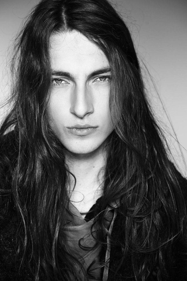 Gabriel Bin By Vanessa Deleu Long Hair Styles Men Black Hair Aesthetic Long Hair Styles