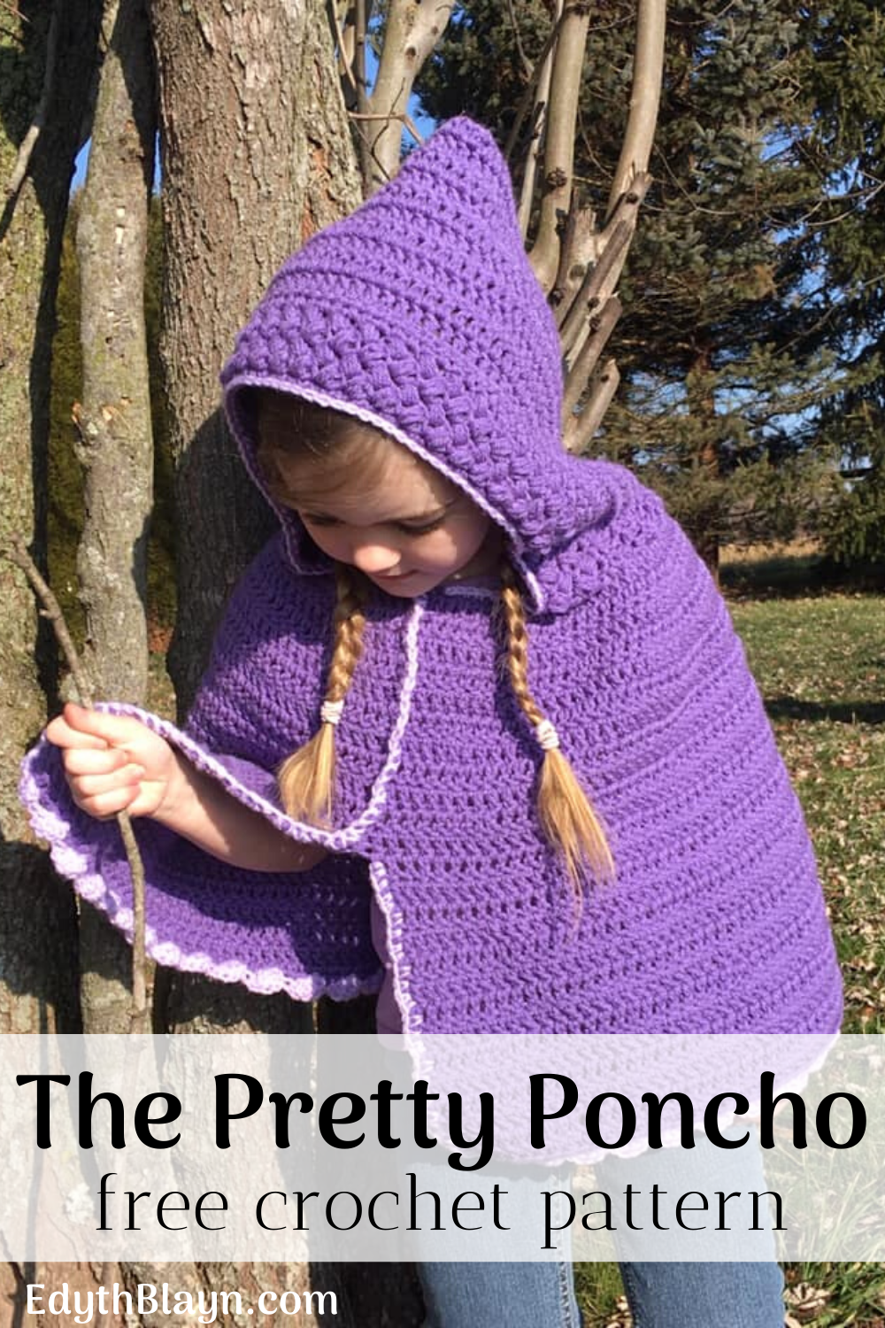 The Pretty Poncho - Free Crochet Pattern