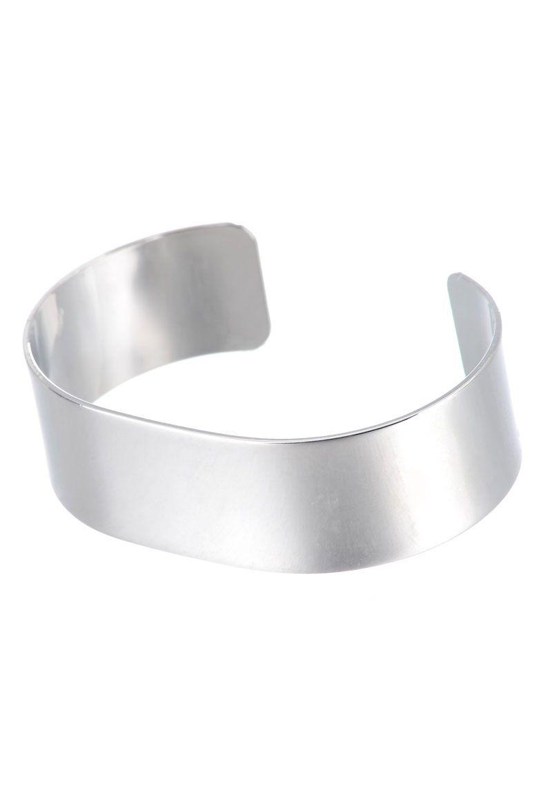 Br Cuff Bracelet Blank 16cm 2cm Wide