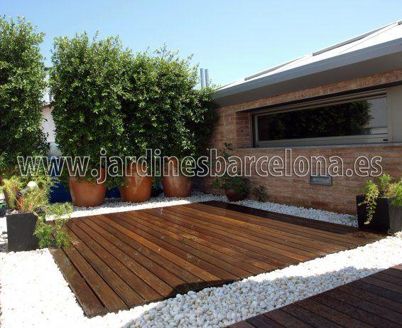 Decoraci n de terrazas y patios con madera para exterior - Decoracion de patios y terrazas ...