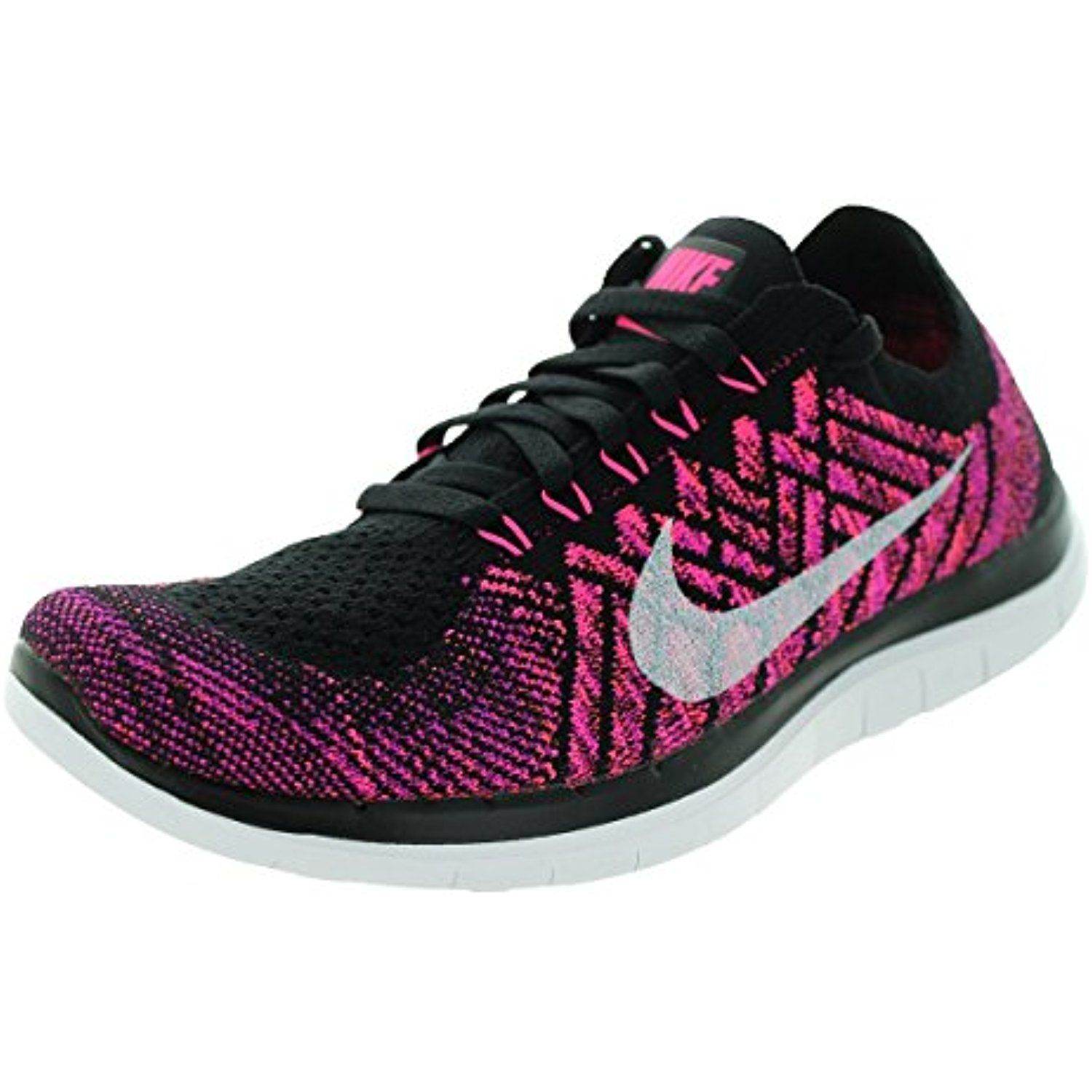 sale retailer 946cf dfa66 Free 4.0 Flyknit Women s Running Shoes, 9.5, Black Pink Pow Fuchsia Flash     Be sure to check out this awesome product. (This is an affiliate link)   Shoes