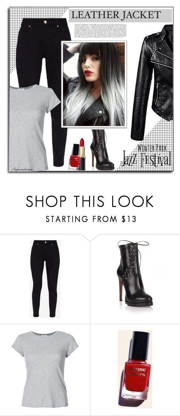 """""""LEATHER JACKETS"""" by arjanadesign liked on Polyvore"""