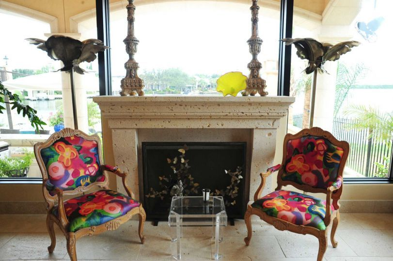 colorful upholstered dining chairs - Google Search
