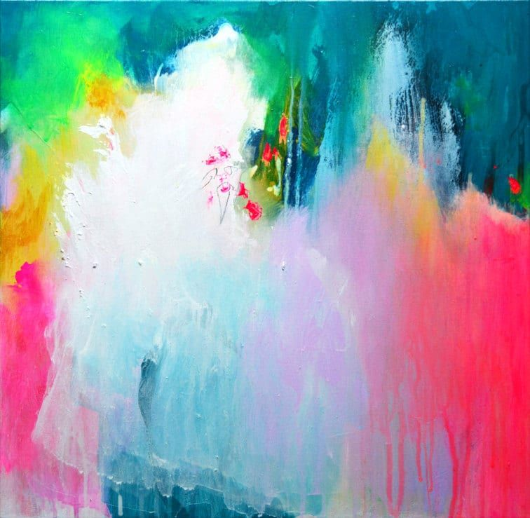 Kirsten Handelmann Abstract Painting . Affordable art available to buy online. featured on theartfolk.com