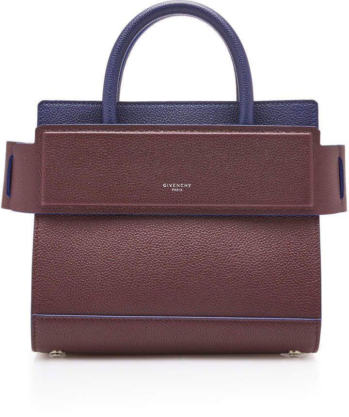 a9fffdb523ac Givenchy Horizon Color-Block Leather Mini Bag | BAGZ | Pinterest | Сумки