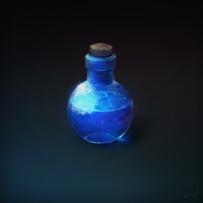 How to Draw for game #3 Potion by Sephiroth-Art.deviantart.com on @deviantART