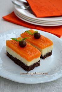 havuçlu irmik tatlısı,tatlı tarifleri  (semolina & carrot dessert)