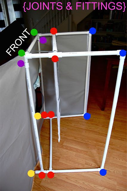 Classroom Skit Ideas ~ How to make a puppet stage great for classroom skits