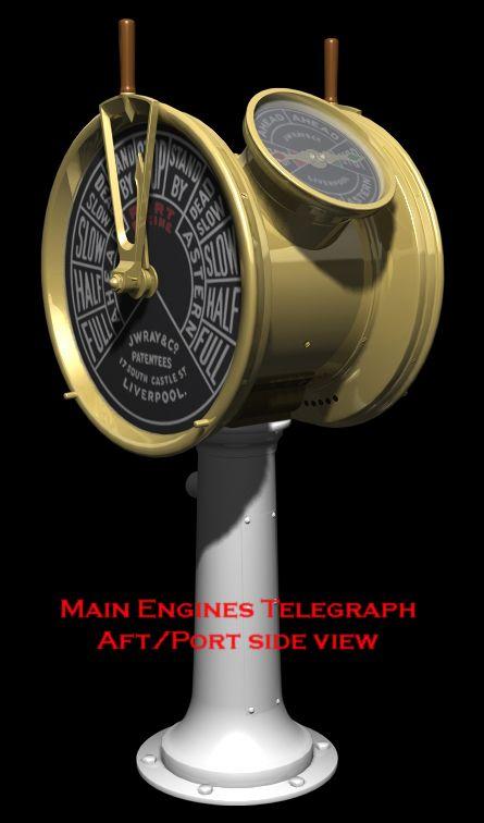 Titanic Engine Room Coal: Engineering, Table Fan