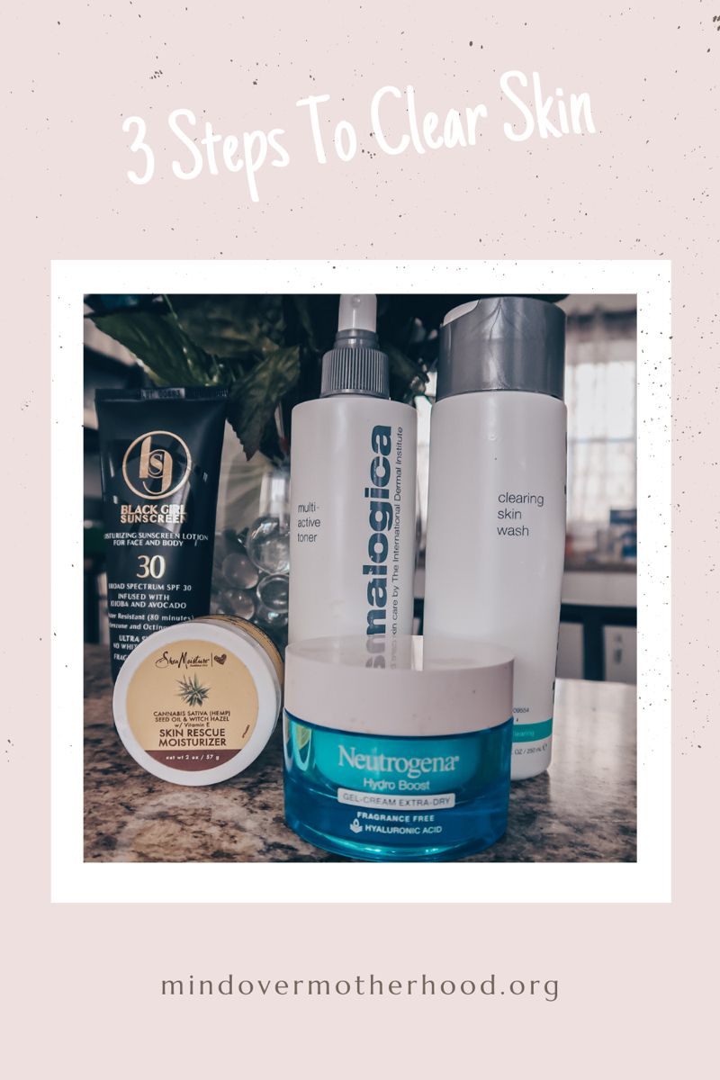 3 Steps To Clear Skin Skin Care Quiz Clear Skin Dry Skincare
