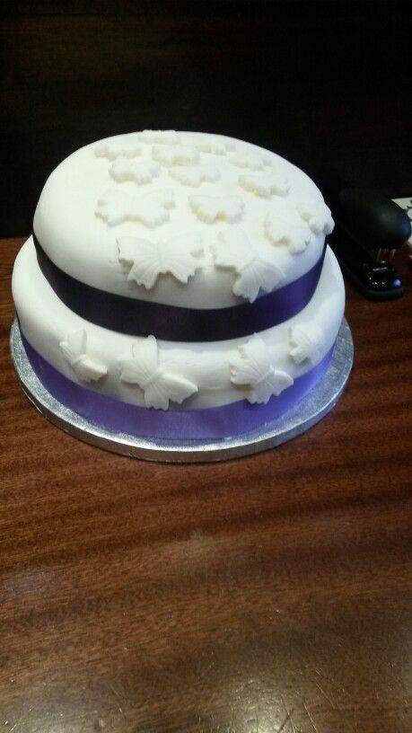 Two Tier 50th Birthday Cake, Yum!