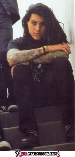 Davey Havok, back when he was beautiful and had all his hair and made incredible music and didn't look like a hipster.