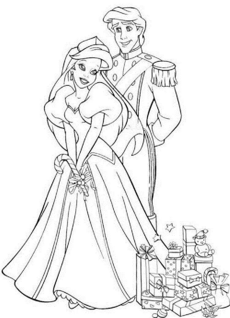 Princess Wedding Coloring Pages Princess Coloring Pages Ariel Coloring Pages Wedding Coloring Pages