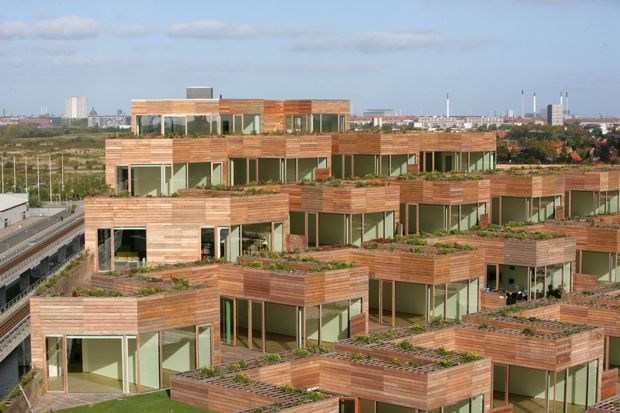 Bjarke Ingels Group apartment building