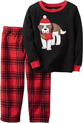 04cd481e8 Sleepwear 84544  Carter S Little Boys 2 Piece Fleece 367G127