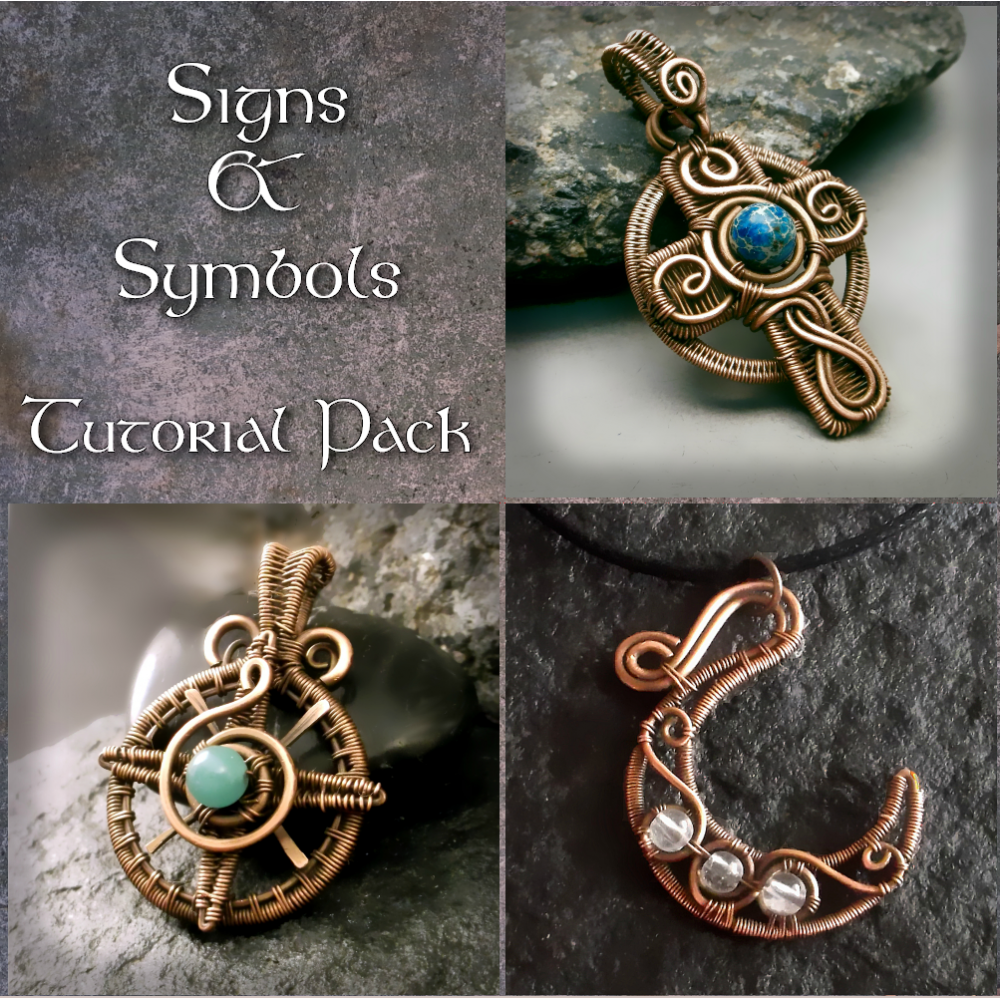 Learn wire wrapped and wire work symbols and jewelry making -- at a ...