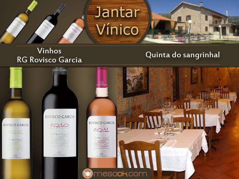 Jantar Rovisco - Quinta do Sangrinhal @mesaOk.com.
