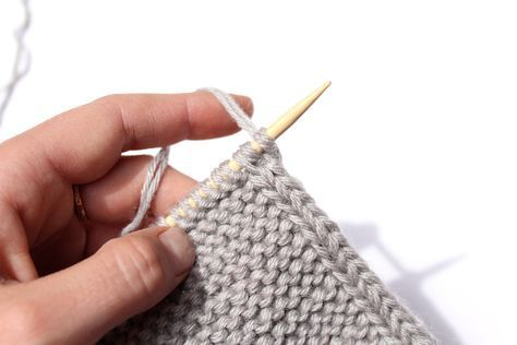 How To Knit A Perfect Edge I Knit You Knit We Knit Pinterest