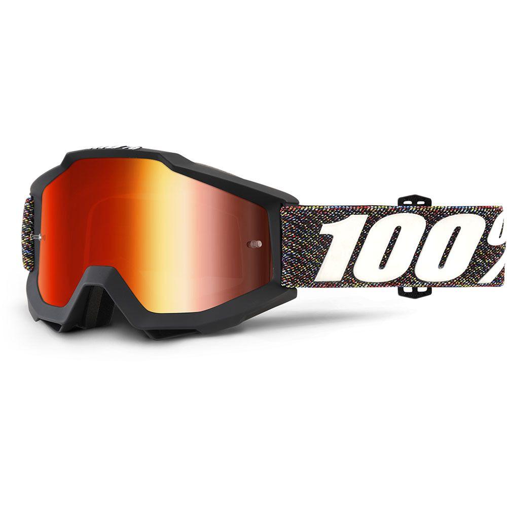 23d042d428cf 100% Percent Accuri Krick Red Tinted Goggles at MXstore