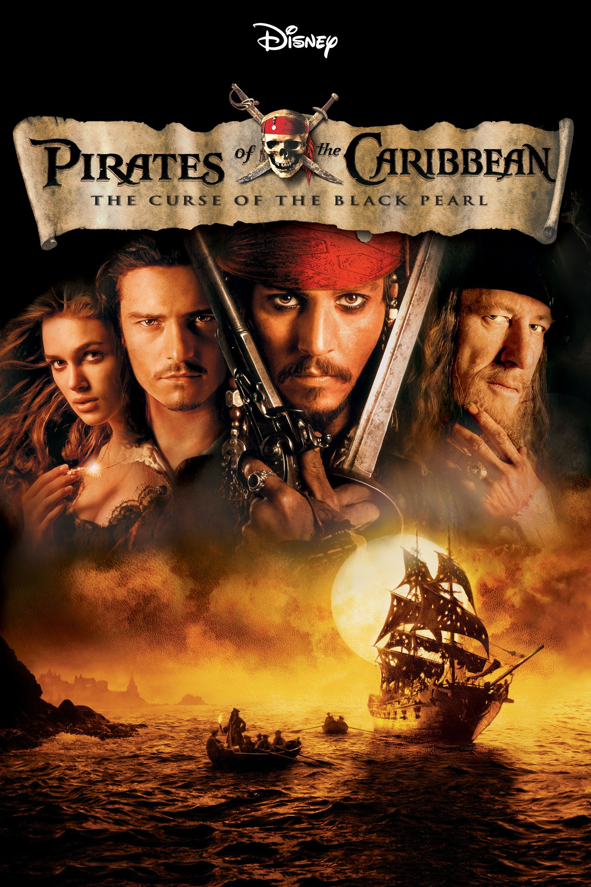 Februar 2019 Gore Verbinski Pirates Of The Caribbean The Curse Of The Black Pearl 2003 Usa Kei Pirates Of The Caribbean Best Date Night Movies Pirates