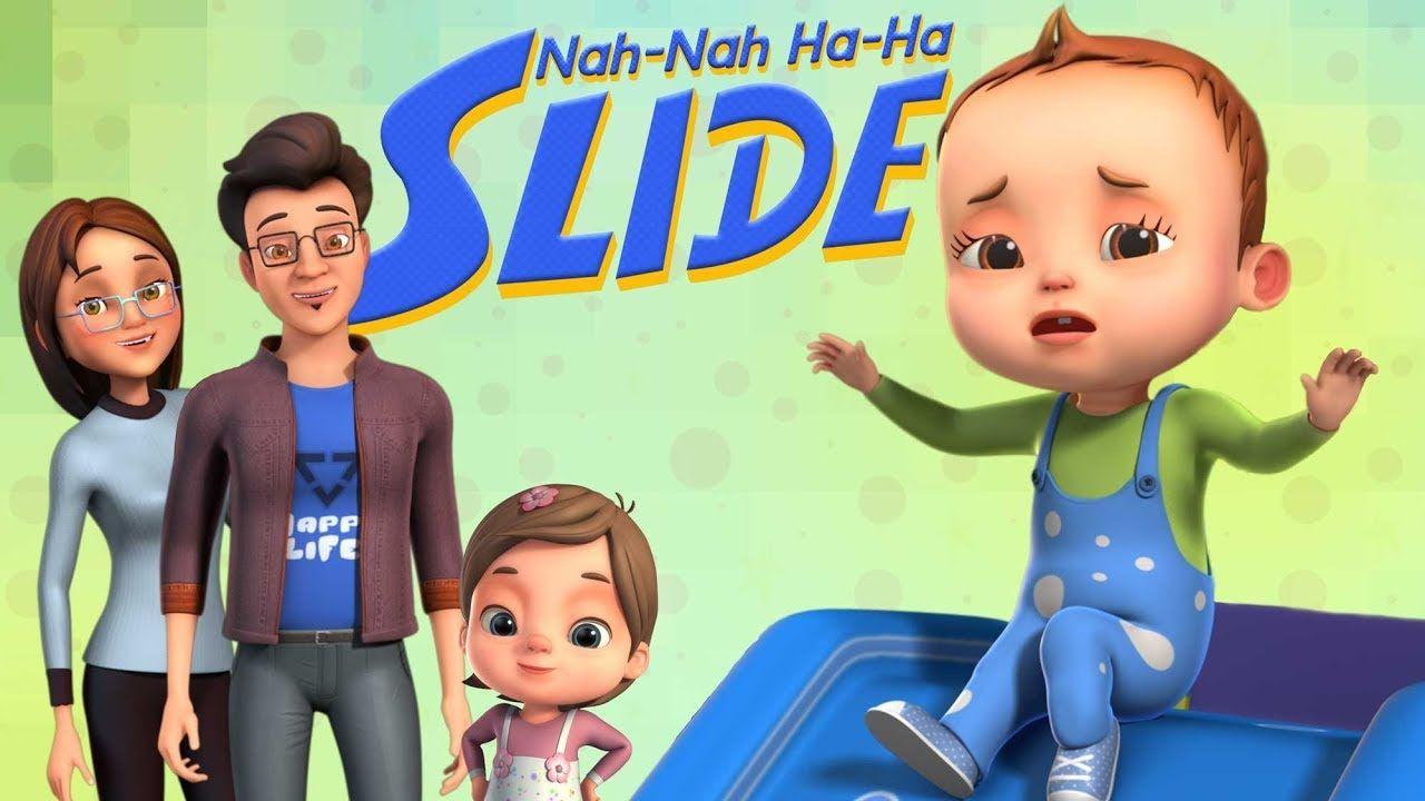 Nah Nah Ha Ha - Slide Song | Baby Ronnie Rhymes | Nursery ...