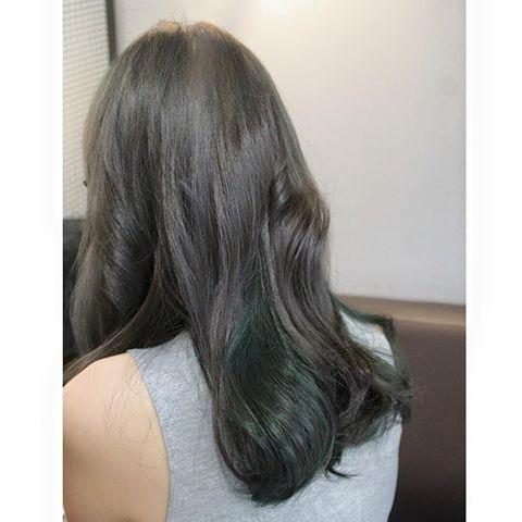Image Result For Green Base Ash Hair Dye Ash Hair Long Hair Styles
