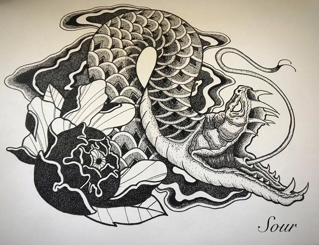 . . . . #tattooillustration #tattooideas #tattoosleeve #serpiente #snake #peonia #peoniatattoo #snaketattoo #tattoolifestyle #tattoart #sour_tattoo_art #sour_tattoo_bcn #tattooist #instatattoo #sketching #sketchingtime