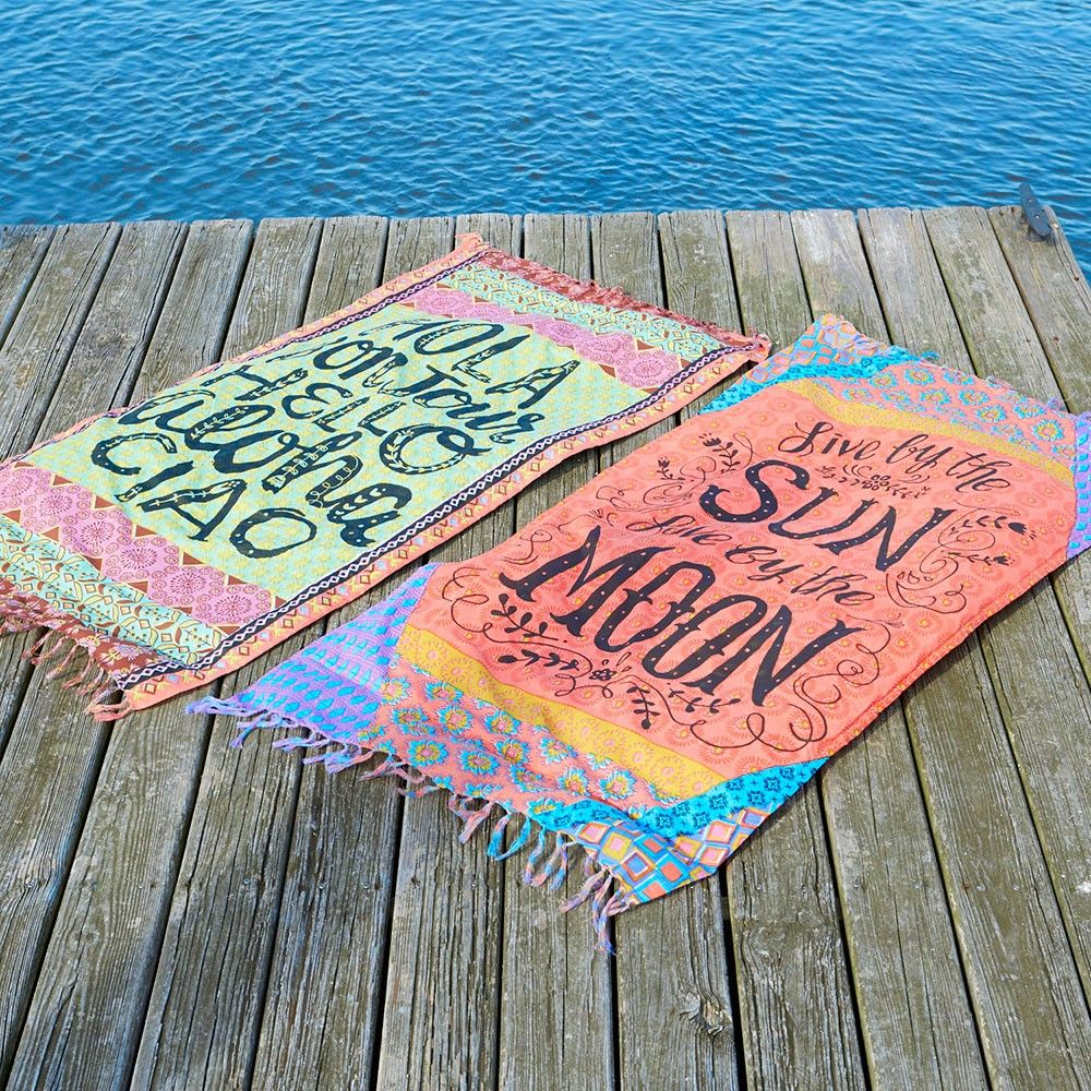 Have More Fun In The Sun With These Cute Beach Towel Blankets Use